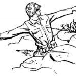 Фото 54: Рисунок карандашом солдат в окопе