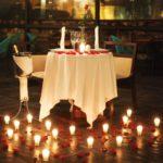 Фото 87: Свечи и лепестки роз