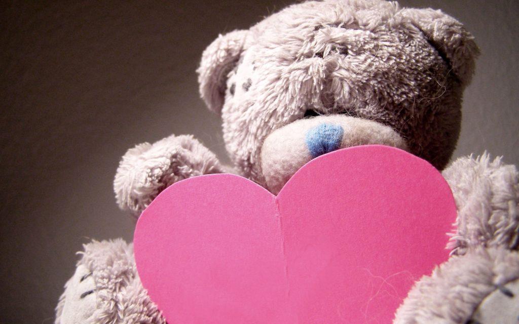Мишка Тедди и валентинка