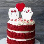 Фото 131: Торт кекс на 14 февраля