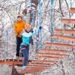 Фото 124: Веревочный городок на корпоратив 23 февраля