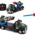 Фото 43: Военная машина с ракетой на радиоуправлении в подарок мальчику