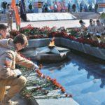 Фото 114: Возложение цветов к Вечному Огню на 23 февраля