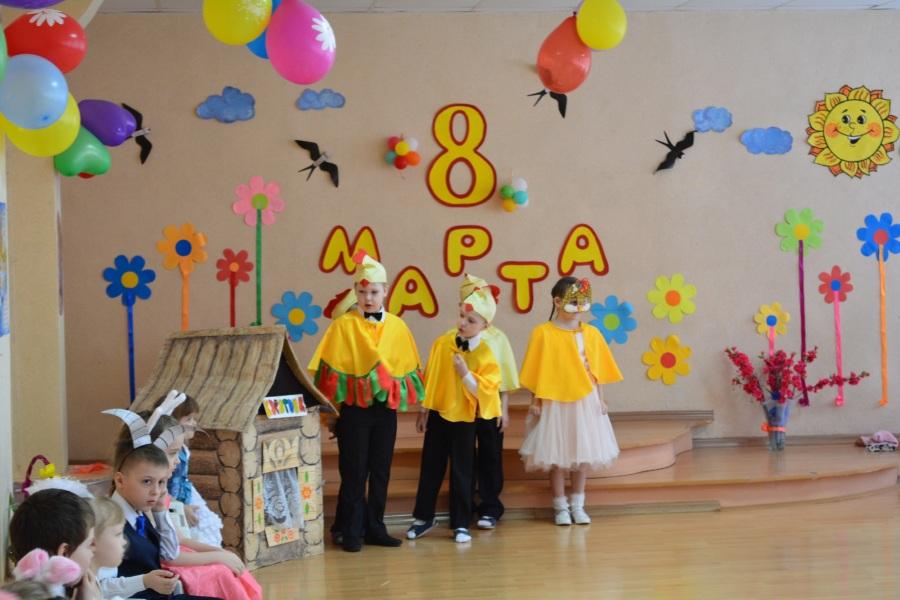 Сценка на 8 марта в детском саду