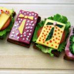 Фото 118: Идеи оригинальных бутербродов на 23 февраля