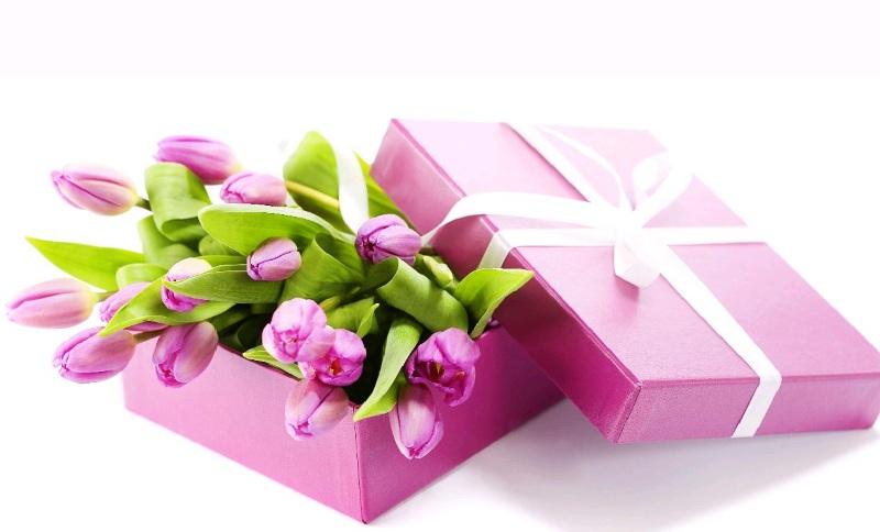 Подарить букет на 8 марта