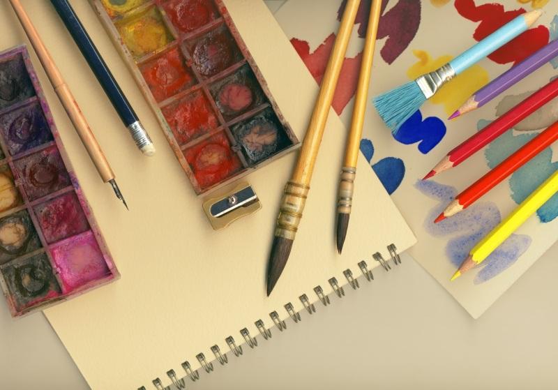 Необходимые инструменты для рисования