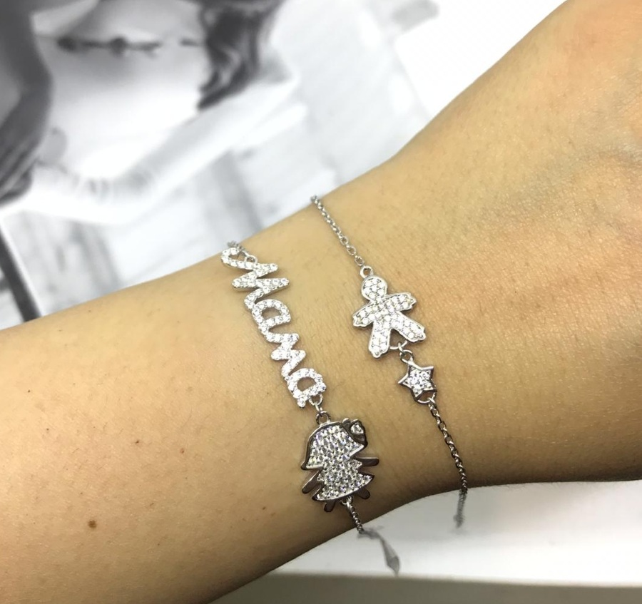 Красивый браслет маме в подарок на 8 марта