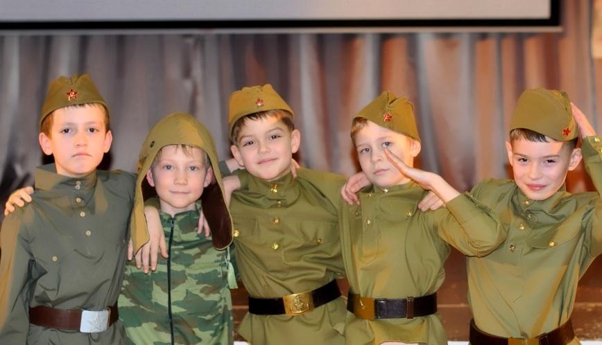 Будущие защитники Отечества и Родины