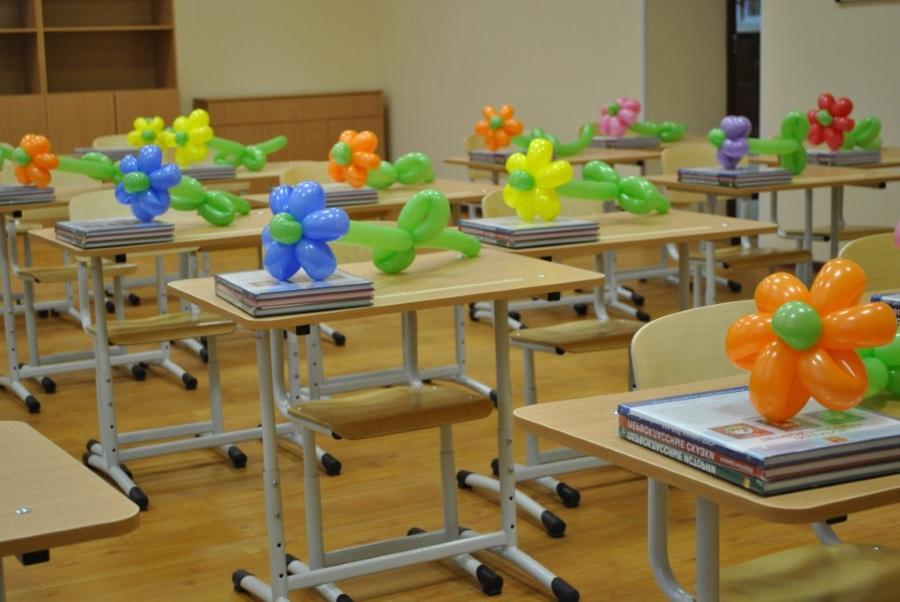 Цветы из шариков для одноклассниц
