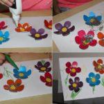 Фото 92: Украсить открытку блестками на 8 марта
