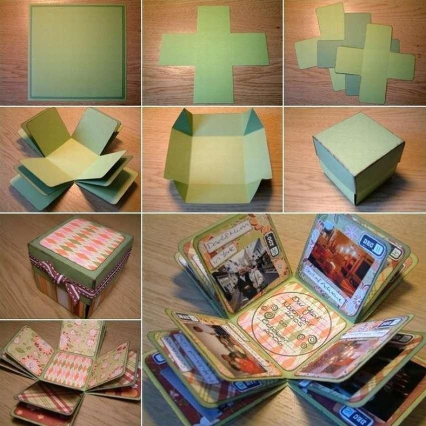 Как сделать коробочку воспоминаний своими руками в подарок маме