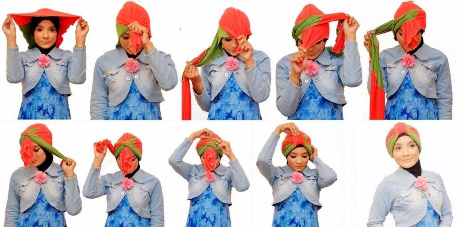 конкурс головной убор из шарфа