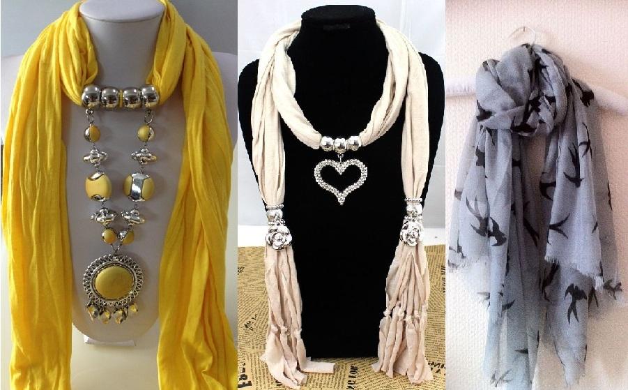 Красивые шарфы в подарок маме на 8 марта