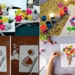 Фото 76: Идеи открыток на 8 марта в разных творческих техниках