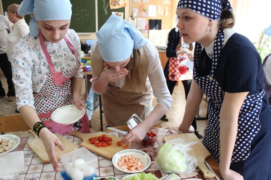 Кулинарный конкурс на 8 марта