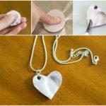 Фото 118: Как сделать кулон с детскими отпечатками своими руками