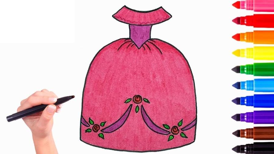 Конкурс рисунков бального платья на 8 марта