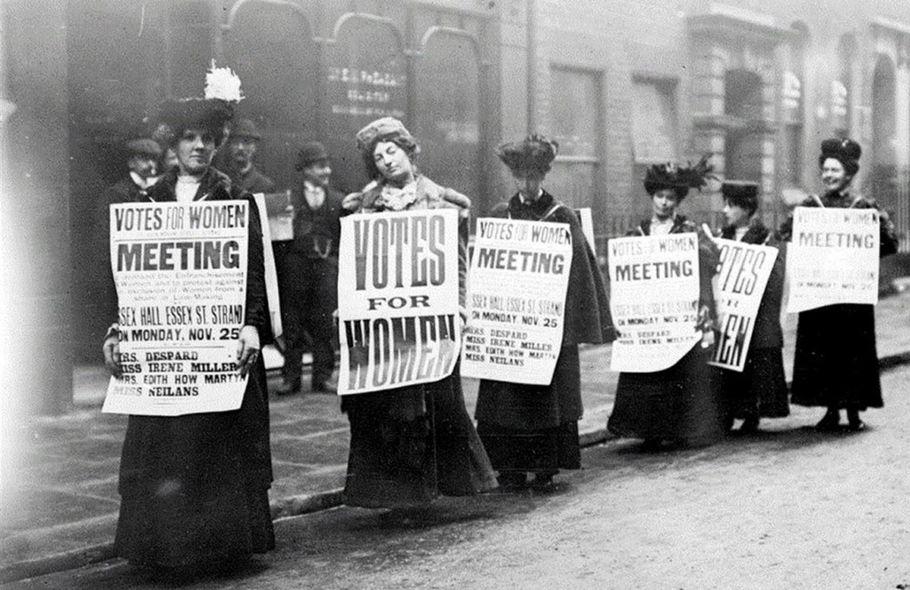 Марш за избирательные права женщин