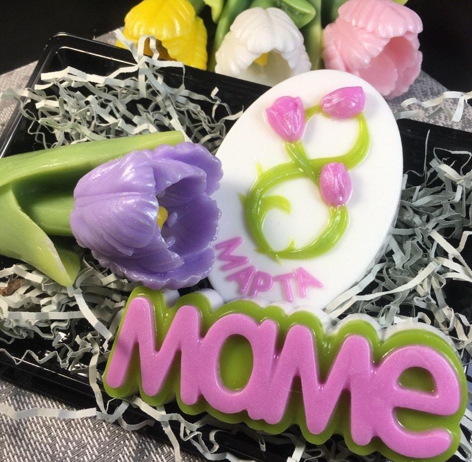 Набор мыла маме на 8 марта