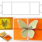 Фото 119: Скачать шаблон открытки с бабочкой на 8 марта