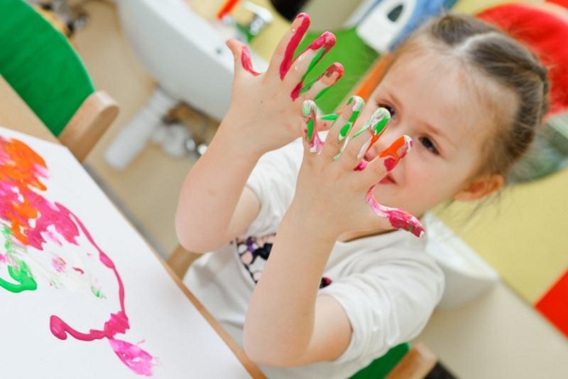Рисование пальчиками для детей