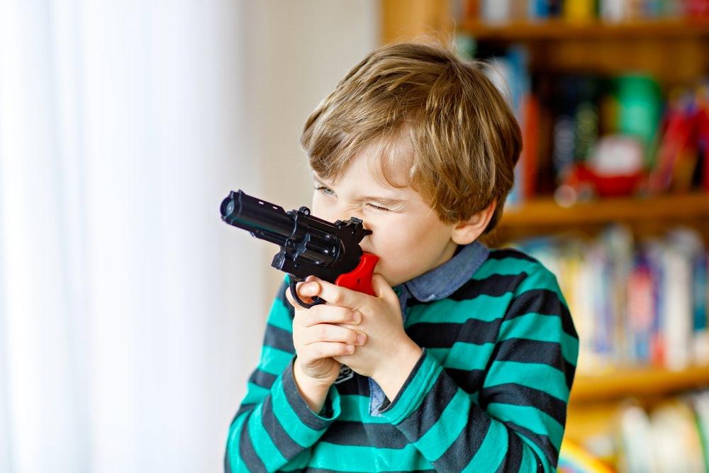Подарок детский пистолет на 23 февраля