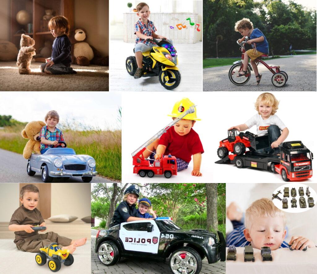 Подарки для мальчиков 3-4 лет на 23 февраля