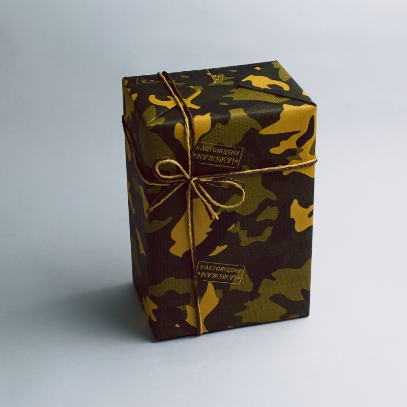 Упаковка подарков на 23 февраля своими руками