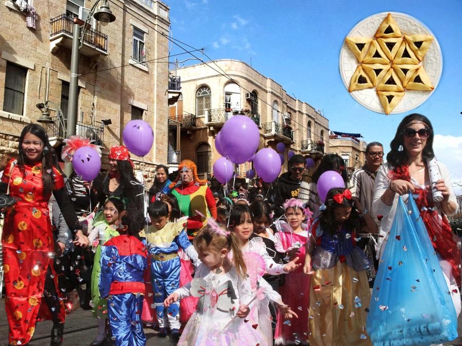 Весенний праздник Пурим в Израиле