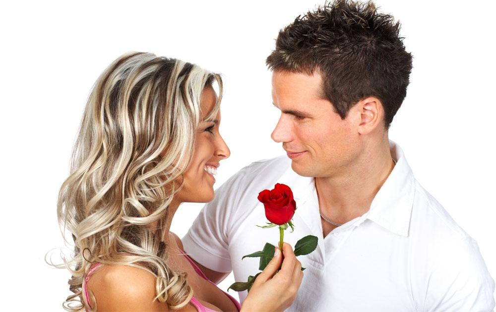 Роза в подарок на 8 Марта