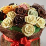 Фото 140: Шоколадный букет роз на 8 марта