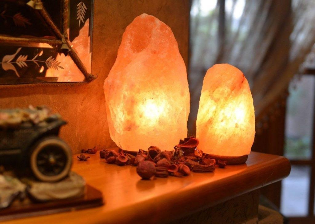 Соляная лампа в подарок маме