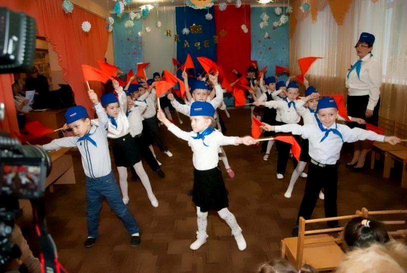 Танец с флажками на 23 февраля для детей