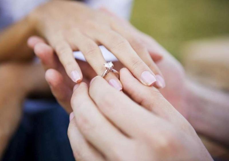 Кольцо в подарок девушке