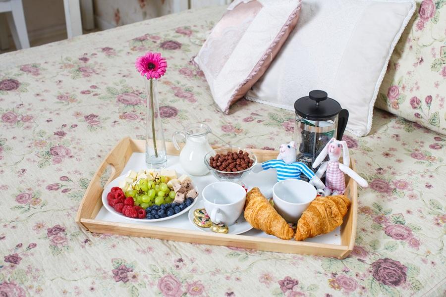 Завтрак в постель маме на 8 марта