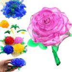 Фото 63: 3D пазлы цветы на 8 марта
