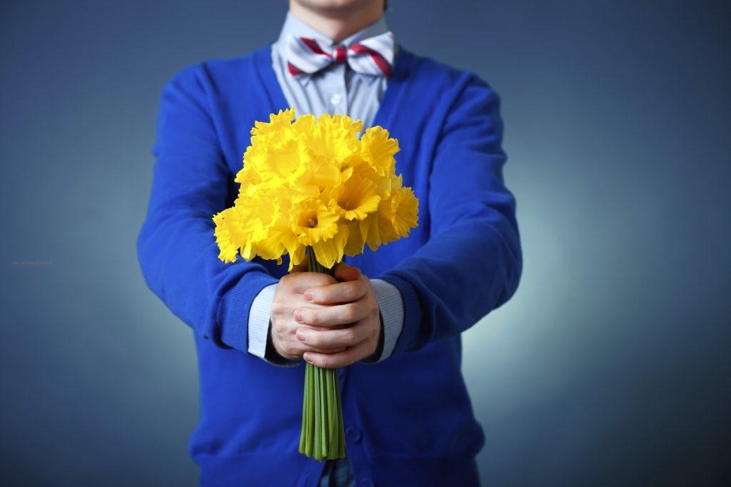 Весенний букет цветов на 8 Марта