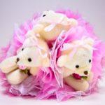 Фото 33: Букет из мягких игрушек в подарок на 8 марта