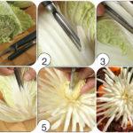 Фото 50: Сделать цветы из пекинской капусты своими руками