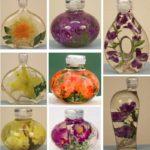 Фото 107: Цветы в глицерине в подарок на 8 марта