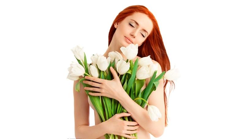 Любимые цветы в подарок на 8 Марта