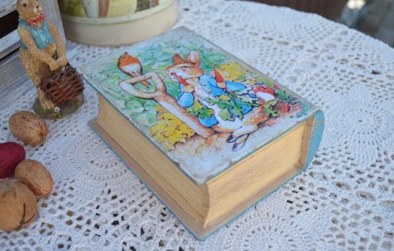 Шкатулка–книжка для девочек в подарок на 8 марта