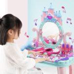 Фото 38: Столик для макияжа с пианино в подарок девочке
