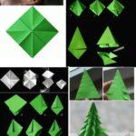 Фото 101: Елочка оригами своими руками