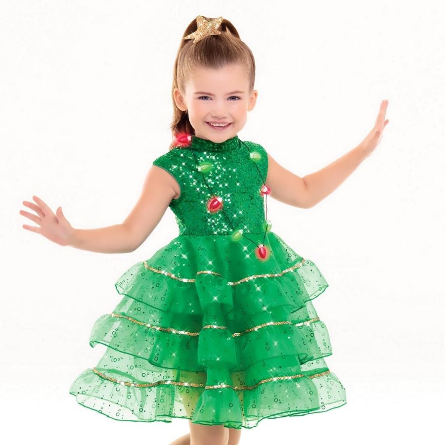 Платье елочка на Новый Год