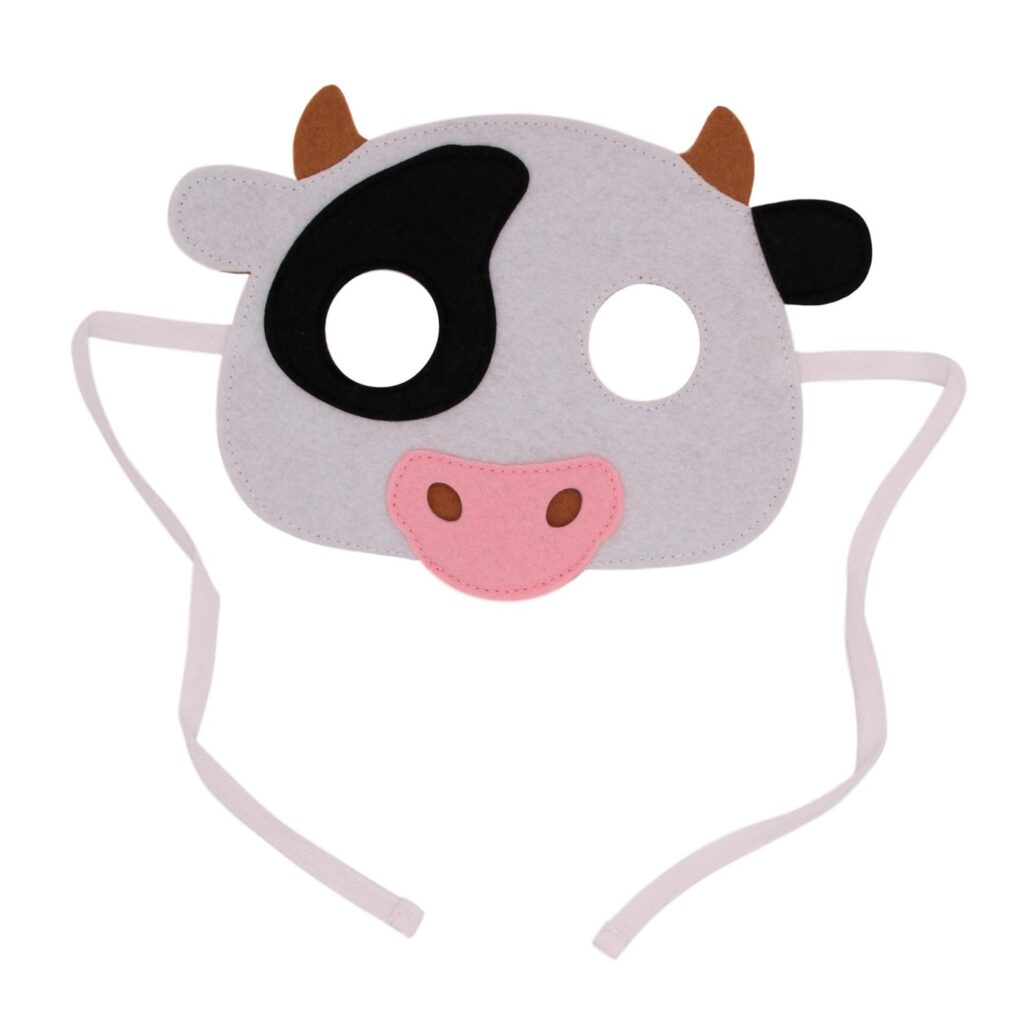 Распечатать маску коровы
