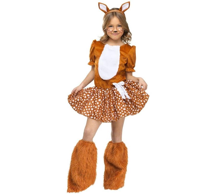Новогодний костюм олененка  для девочки