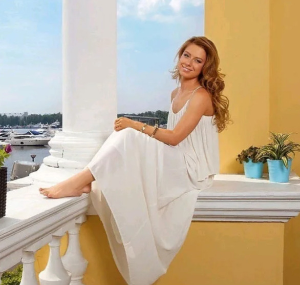 Юлия Савичева на отдыхе
