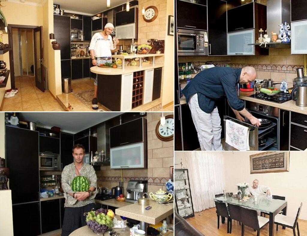 Кухня Максима Аверина